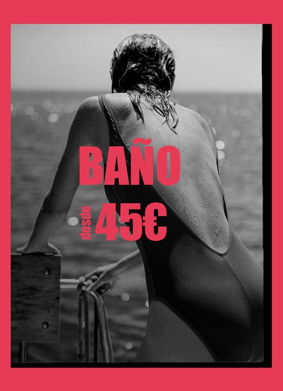 Rebajas bikinis y bañadores